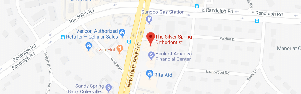Footer Maps The Silver Spring Orthodontist Silver Spring and Olney MD